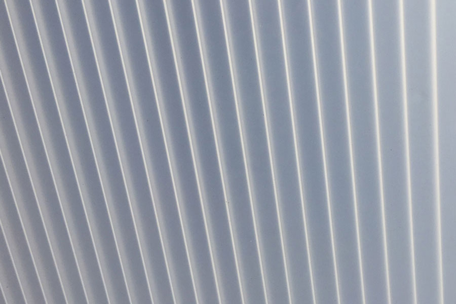 Balta akrilo stogo danga